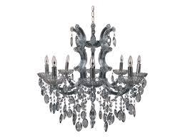 chandelier maria theresa light blue