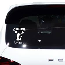 Cheer Vinyl Car Decal Vinyl Car Decal Wall Decal Laptop Decal Peel And Stick Vinyl Decals