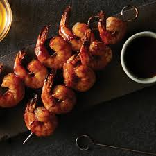 Air Fryer BBQ Shrimp Skewers Recipe ...