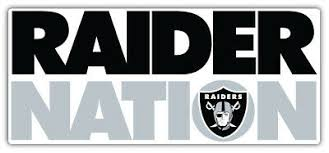 Oakland Raiders Nation Nfl Sport Car Bumper Sticker Decal Sizes Home Garden Children S Bedroom Boy Decor Decals Stickers Vinyl Art