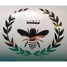 Yeti Gold Foil Queen Bee Vinyl Decal Window Laptop Phone Tablet Tumbler Rambler Colster