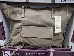 kooba leather tote