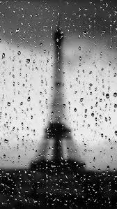 rainy paris iphone 5 wallpaper hd