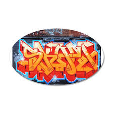 Ganja Graffiti Wall Decal By Retroburp Cafepress
