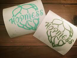 Hopmess Vinyl Decal Cultured Craft