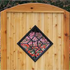 Nuvo Iron Square Decorative Gate Fence Insert Acw54 Fencing Gates Home Xtreme Edeals