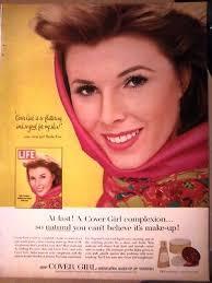 makeup cosmetic sheila finn model ad