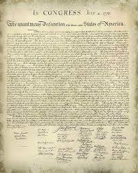 Printable Copy Declaration Independence