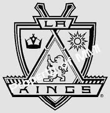 La Kings Los Angeles Style 5 Vinyl Decal Hockey Window Wall Truck Car On Popscreen