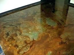 acid concrete stain home depot