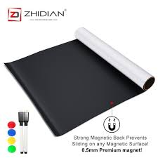Zhidian Self Adhesive Magnetic Dry Erase Whiteboard Wall Stickers Officetopify