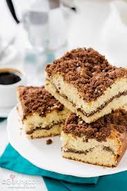 stuffed cinnamon streusel coffee cake