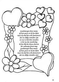 Moederdag Gedichtje Moederdag Vaderdag Moederdagideeen
