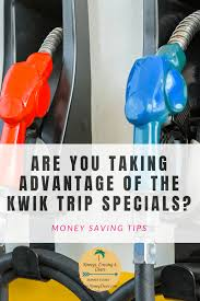kwik trip specials to save you money