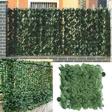 Hot Sale F863 1 3m Artificial Privacy Fence Screen Faux Ivy Leaf Screening Hedge For Outdoor Indoor Decor Garden Backyard Patio Decoration Cicig Co