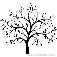 Tree Decals Vinyl Trees Tree Silhouette
