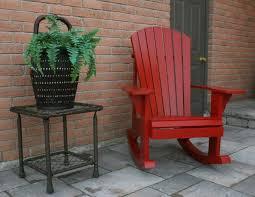 adirondack rocking chair homemade