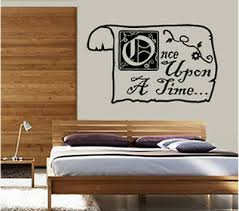 Once Upon A Time Storybook Wall Decor Decal Sticker Ebay