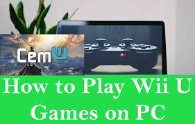 how to play wii u games on pc and