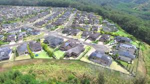 aerial tour of mililani mauka homes