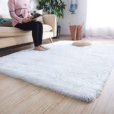 Amazon Com Noahas Super Soft Modern Shag Area Rugs Fluffy Living Room Carpet Comfy Bedroom Home Decorate Floor Kids In 2020 Living Room Carpet Fluffy Rug Room Carpet