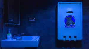 so bad starbucks has blue lights