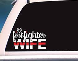Wife Car Decal Etsy