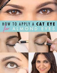 everyday eye makeup for almond eyes