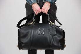 leather duffle bag most stylish