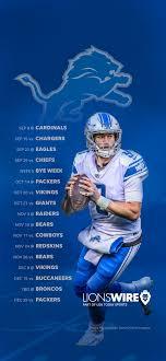 2019 Detroit Lions Schedule ...