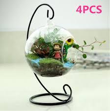 hanging glass globe plant terrariums
