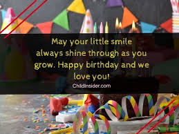birthday wishes for year olds on their special day child