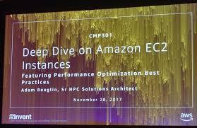 レポート】 EC2のパフォーマンス最適化とベストプラクティス (Deep Dive on Amazon EC2 Instances,  Featuring Performance Optimization Best Practices) #reinvent #CMP301 |  Developers.IO