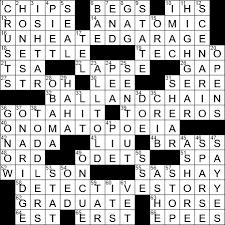 La Times Crossword 16 Jul 20 Thursday Laxcrossword Com