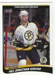 Jonathan Girard 2001-02 Providence Bruins   eBay