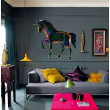 Shop Unicorn Full Color Polygonal Wall Decal Overstock 32038528