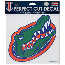 Florida Gators Wincraft 8 X 8 Color Car Decal