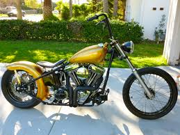 lucky 7 bobber motorcycle