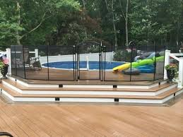 How To Winterize Above Ground Pool Step By Step Tags Above Ground Pool Ideas Abov Above Ground Pool Landscaping Backyard Pool Landscaping Pool Landscaping