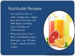 ppt nutribullet recipes powerpoint