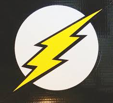 The Flash Emblem Vinyl Decal Bitchen Stickerz