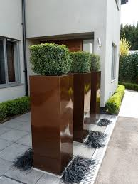 tall square planters any colour any