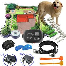 Dog Friendly Underground Pet Electronic Fence Waterproof Fence Shock Collar System 300 Meters For One Dog Sale Banggood Com