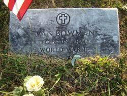 Ivan Bowman (1917-1984) - Find A Grave Memorial
