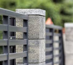 Modular Fence System Roma Classic Concrete Fences Producer Of Fences Posts Blocks And Hollow Bric Modern Fence Design Front Wall Design Fence Gate Design