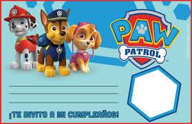 Paw Patrol Entra En Accion Ideas Para Fiesta De Cumpleanos