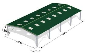 our steel frame building kits
