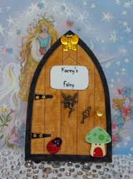 Personalised Fairy Door Tooth Fairy Gift Fantasy Hand Painted Kids Room M 1774130104