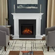 white 5010e w thayer electric fireplace