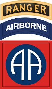 82nd Airborne With Ranger Tab Sticker Decal